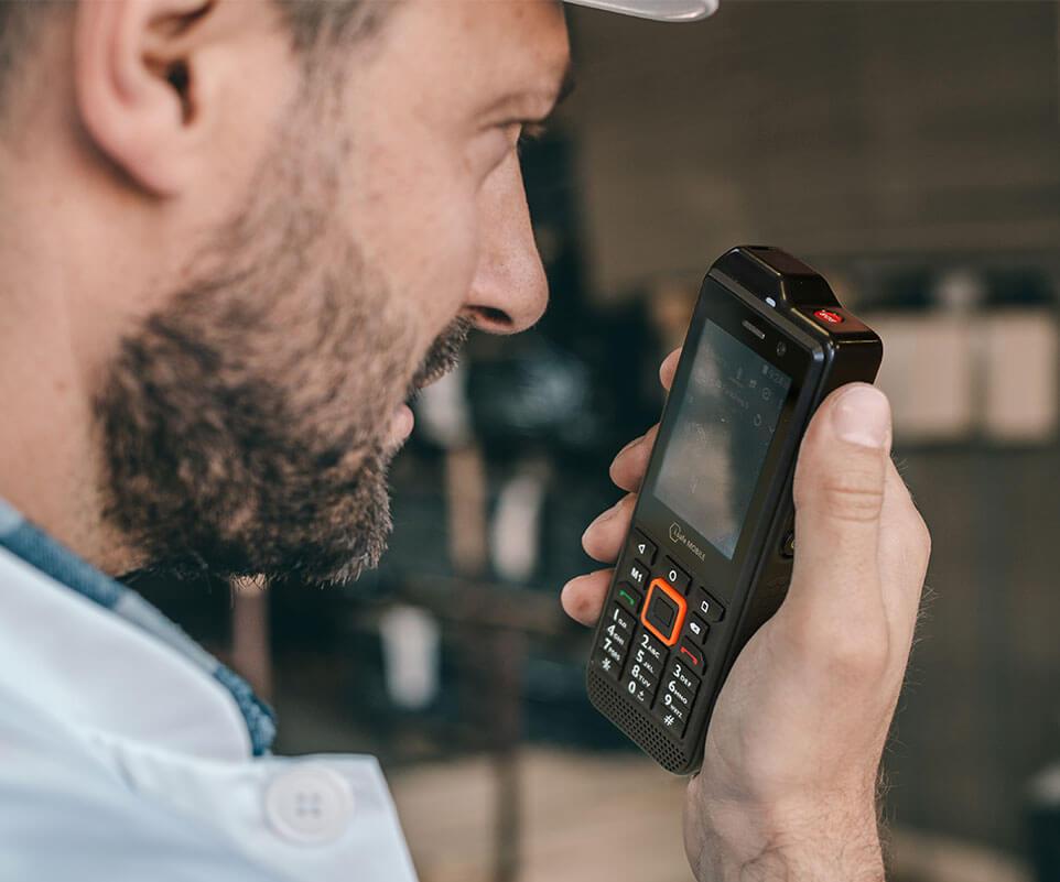 Teléfono industrial IS330.RG