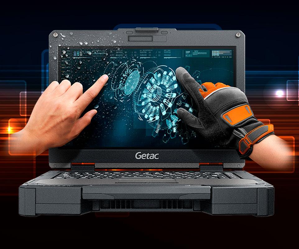 Portátil táctil Getac B360 Pro