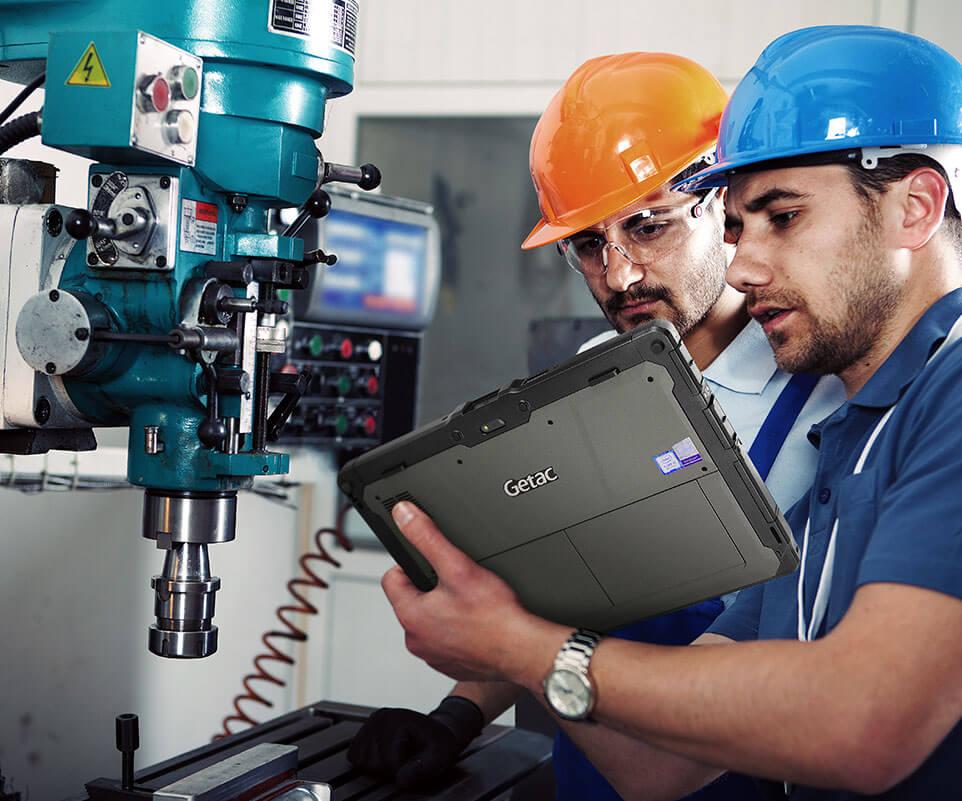 Tablet industrial Getac K120