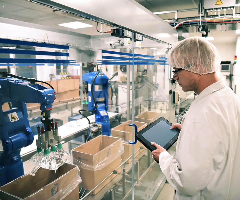 Tablet desinfectable Getac UX10