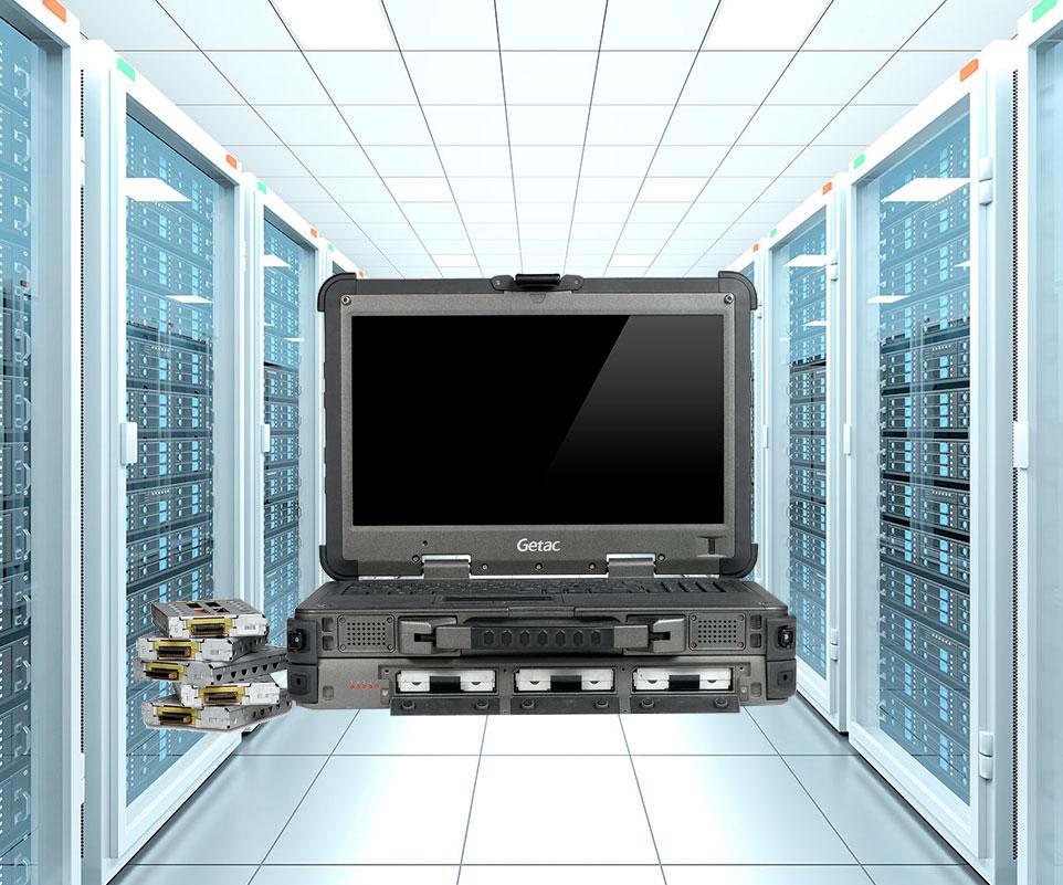 Portátil industrial Getac X500 Server