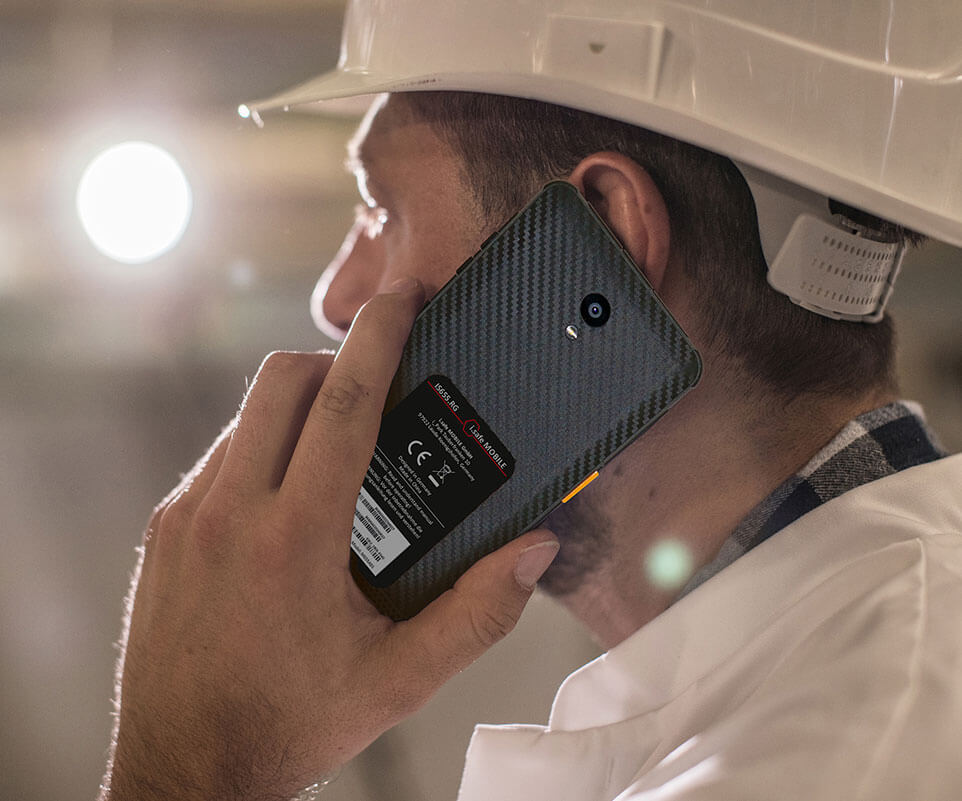 Smartphone industrial IS655.RG