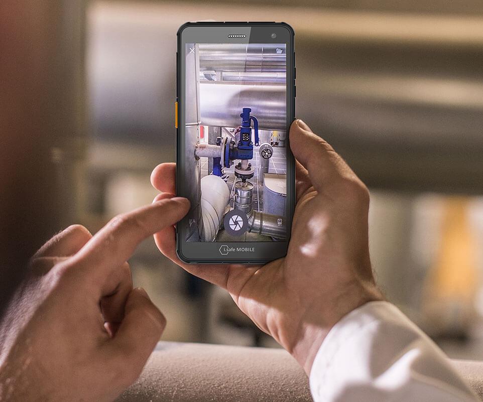 Smartphone robusto IS655.RG