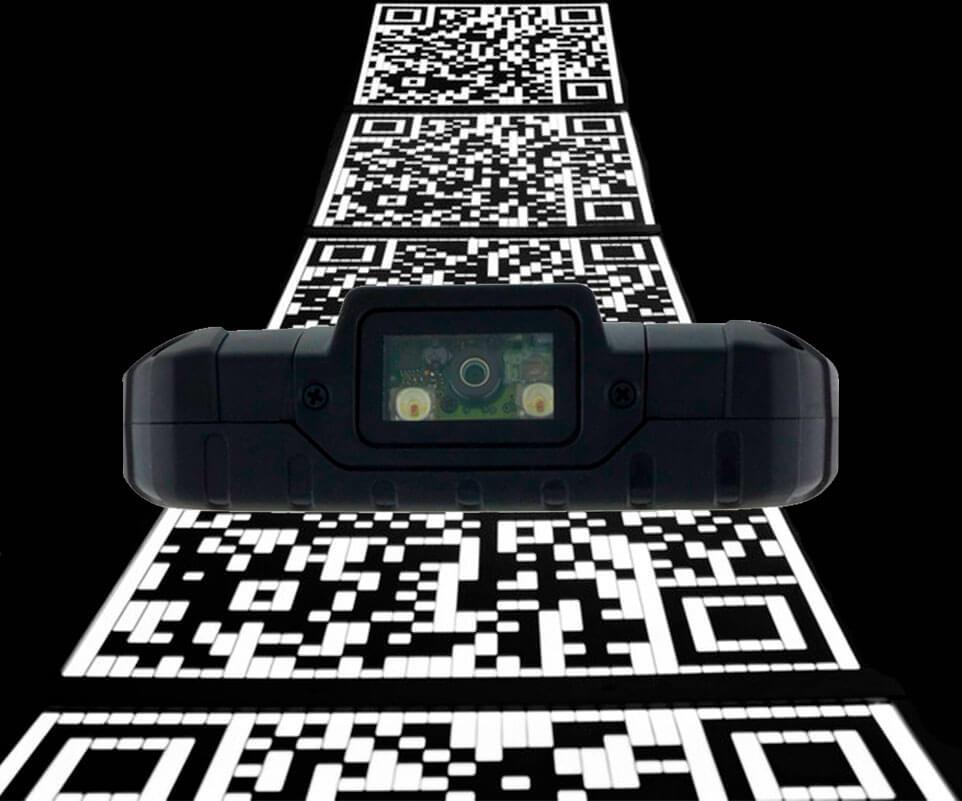 Handheld E500 con lector 1D/2D