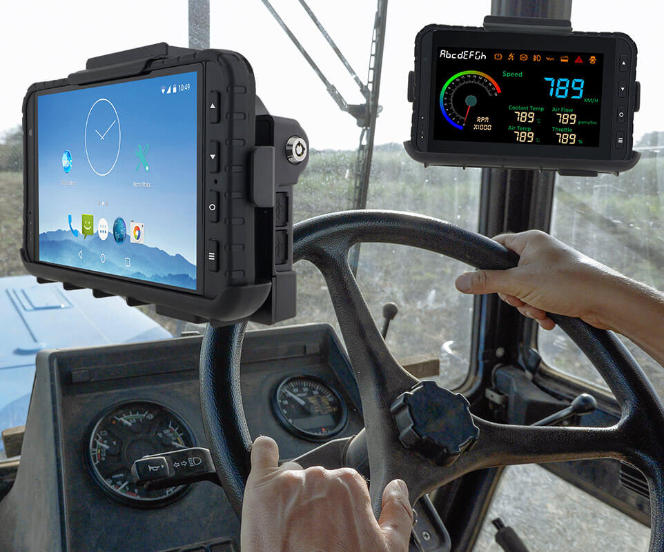Tablet con docking Winmate M700