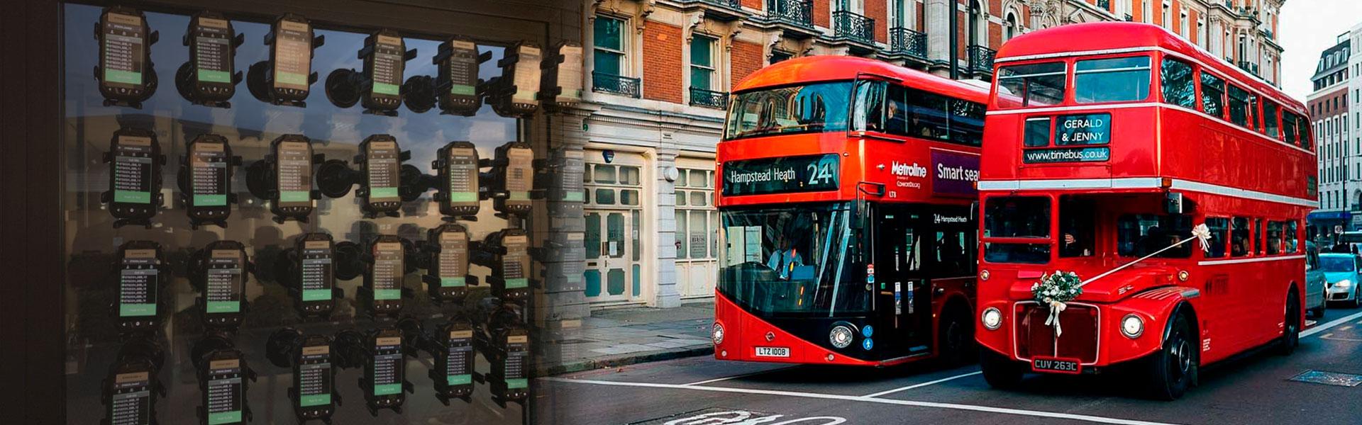 RG725: un gran apoyo para la comunicación del transporte público de Londres en medio de una pandemia