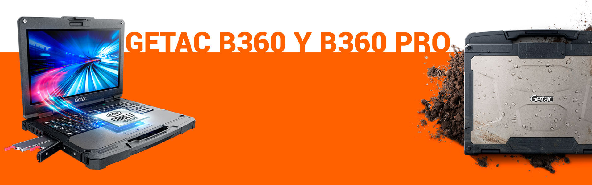Getac B360: nuevo portátil robusto de máxima potencia y adaptabilidad